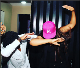 "Captain-E Teaching Me To Dab But I Prefer My Own ""Scorpion Dab"": Says Omotola. Checkout The Dab"
