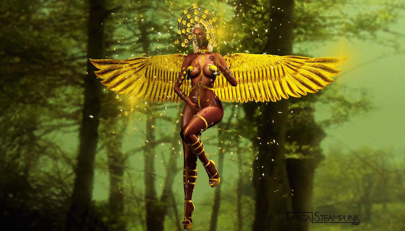 TS #329 Anjo dourado