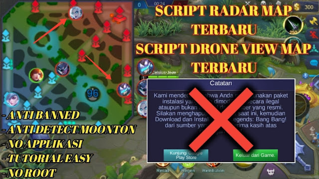 Script Radar MAP Work Ranked Mode dan Anti Banned