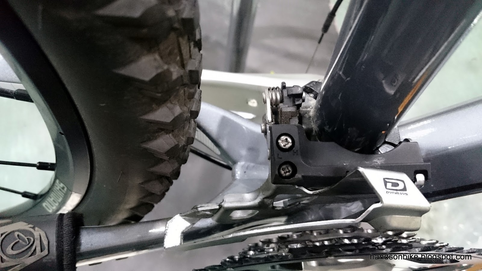 2015 Shimano M8000 Front Pull Side Swing Front Derailleur E-Type