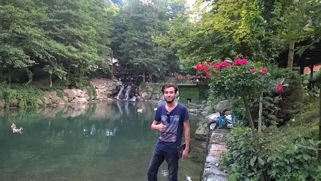 Harun İstenci Natürköy'de. Sapanca, Sakarya - Ağustos 2018