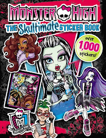 MH The Skultimate Sticker Book Media