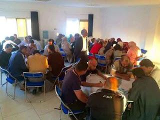 قلعة السراغنة: دورة تكوينية استعدادا للامتحانات المهنية