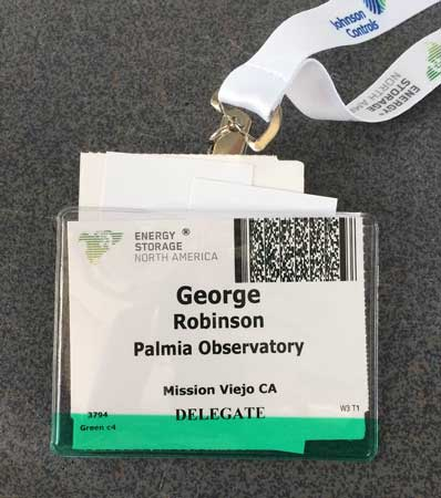 Palmia Observatory astronomer attends ESNA conference
