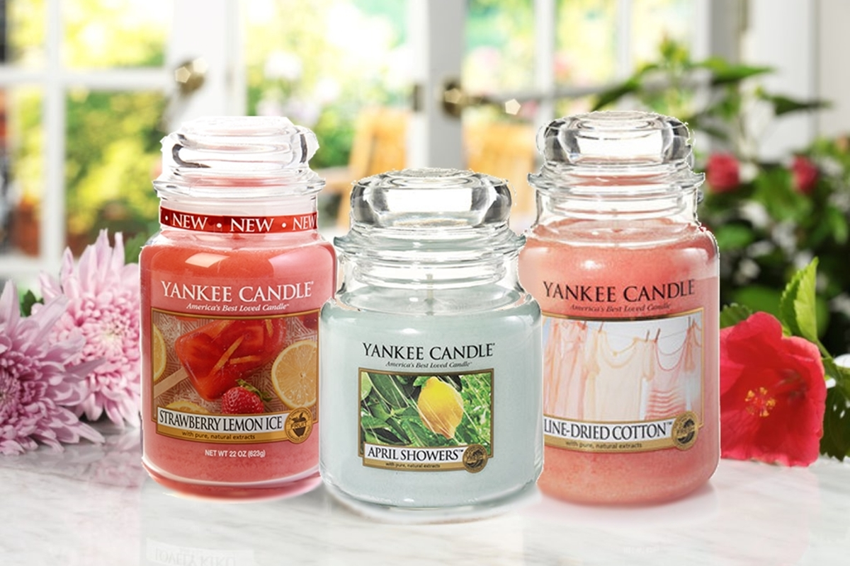 Yankee Candles New Spring Fragrances