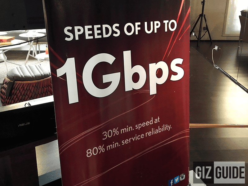 PLDT Showcased The First 1 Gbps Plan In PH, A Glimpse Of The Future!
