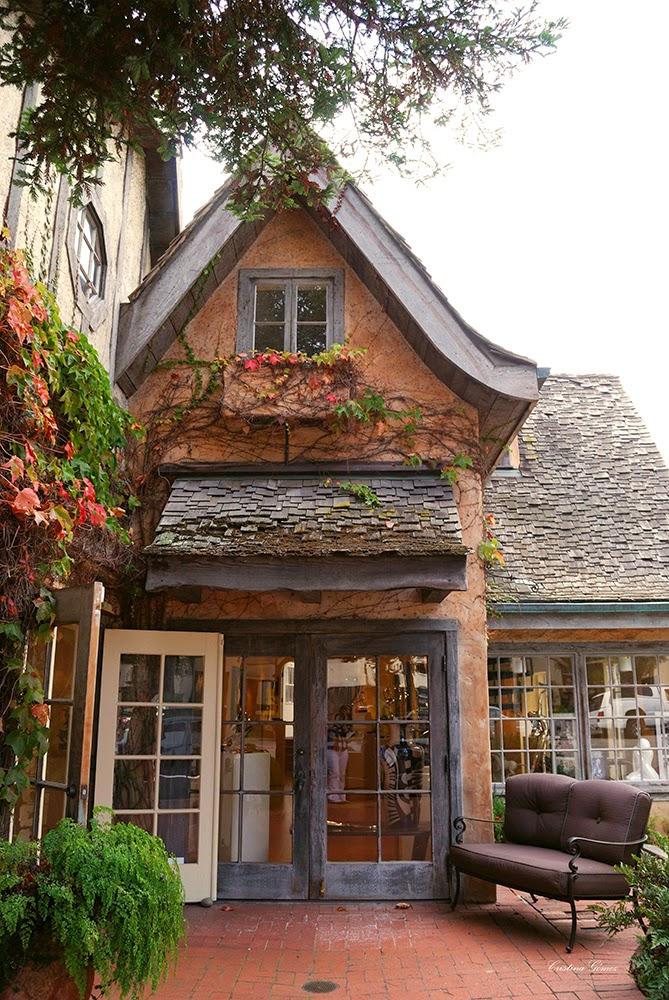 carmel downtown houses fairytale california seaside charming town