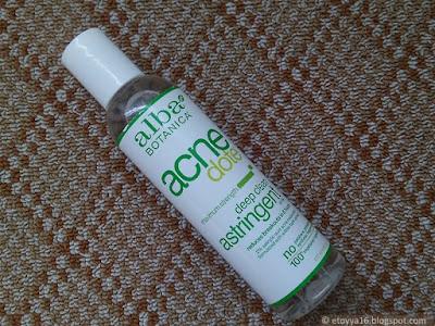 Alba Botanica, Natural Acne Dote, Deep Clean Astringent