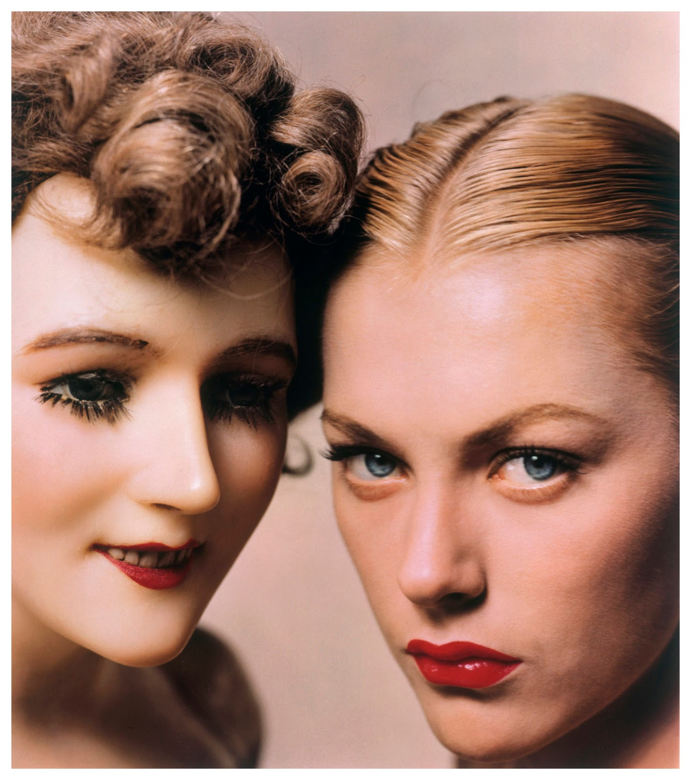 erwin blumenfeld model and mannequin