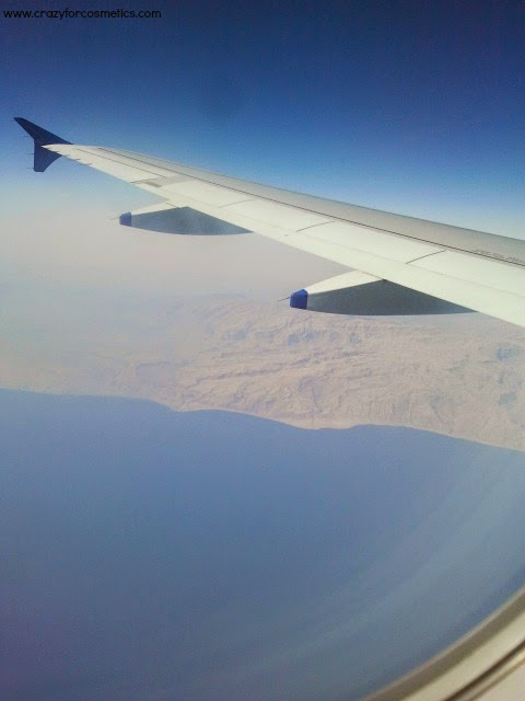 Trip to The Middle East Hub - Dubai - Day 1, Landing in