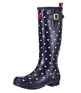 Joules Women's Welly Print Rain Boot - Amazon.ca
