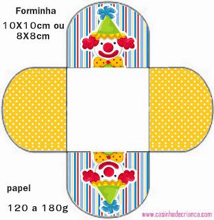 Circus: Free Printable Mini Kit.