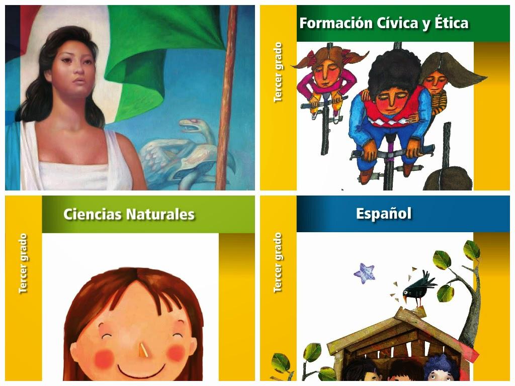 Libros De Texto 2014-2015 PDF Tercer Grado (completo
