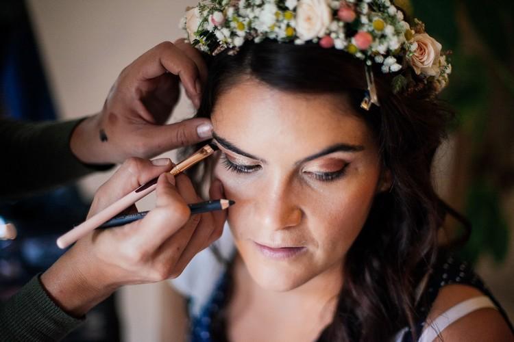 Flower headband, bouquet de mariée, fleuriste mariage Rhône, Lyon wedding florist