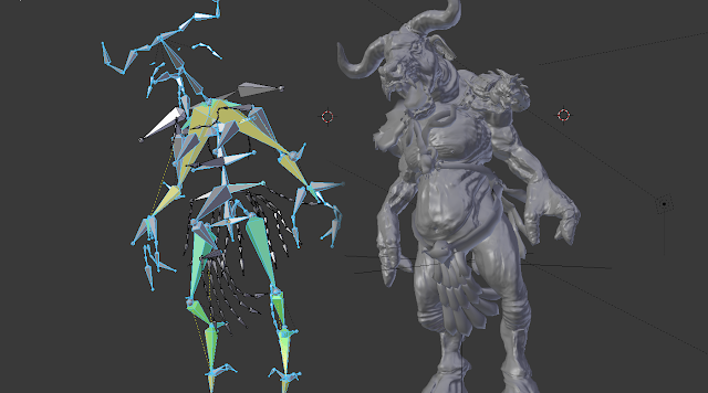 3d character rigging