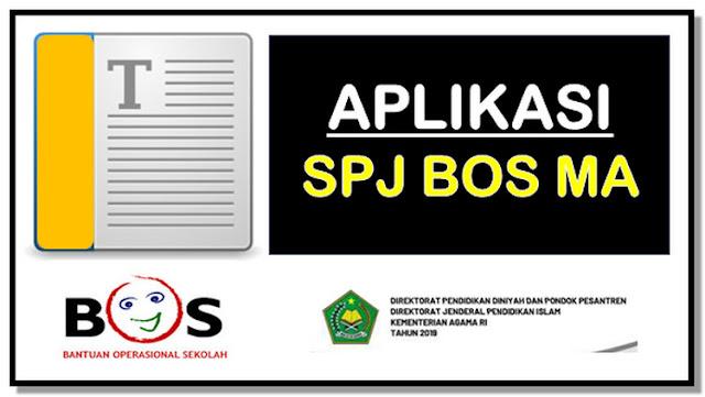 Aplikasi SPJ BOS V.15 untuk Madrasah Aliyah