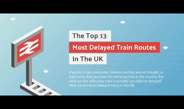 The Top 13 Most Delayed Train Routes In The UK