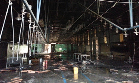 Cháy lớn tại Công ty gỗ xuất khẩu