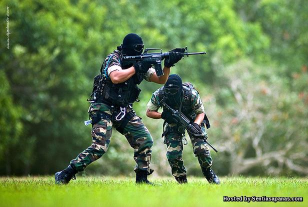 Beret Hijau Komando Malaysia