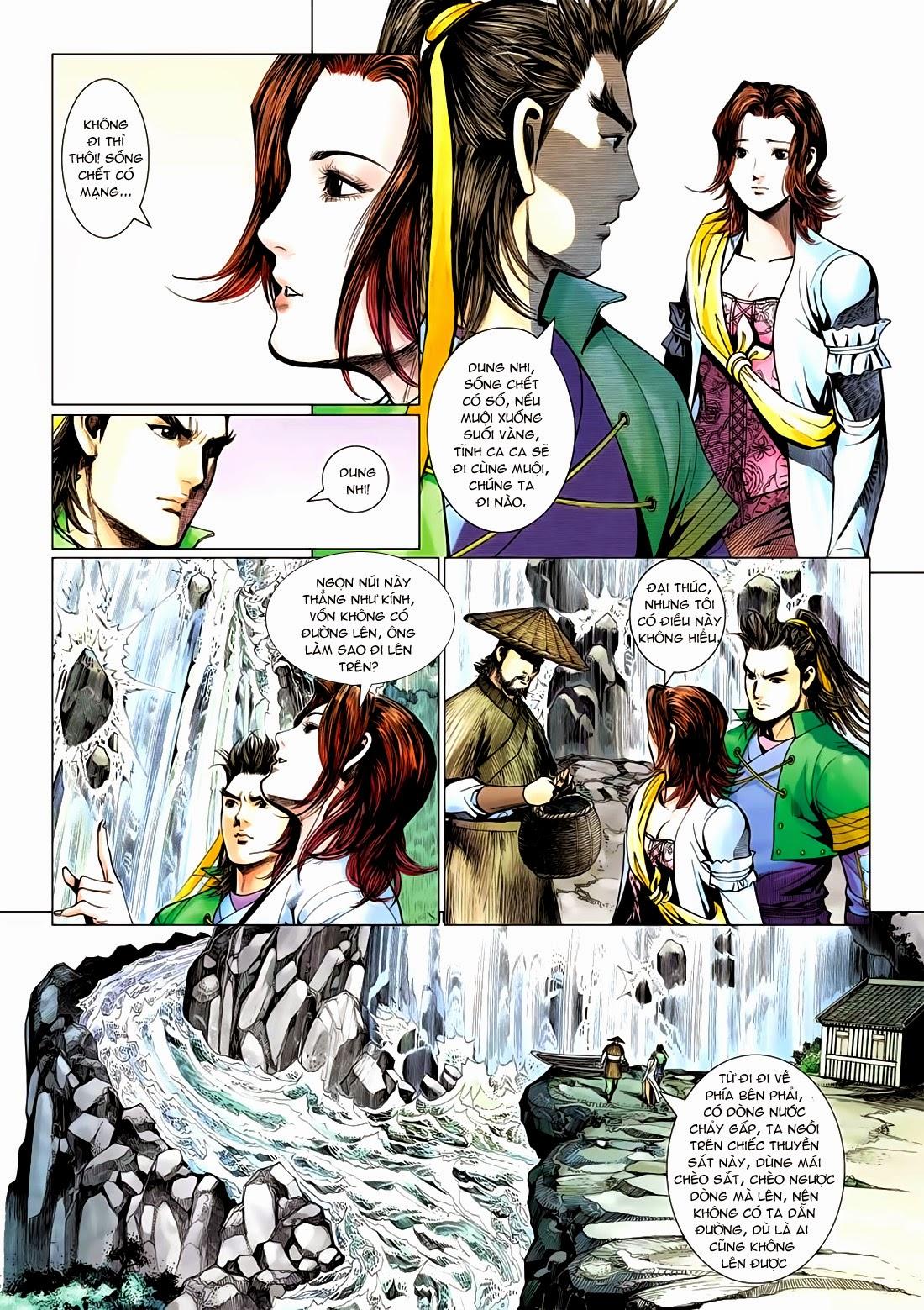 Anh Hùng Xạ Điêu anh hùng xạ đêu chap 72: ngư tiều canh độc trang 11