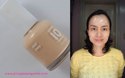 Banila Co Real Stay Cover 10 Foundation Review