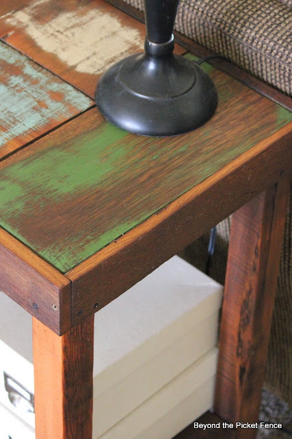 use coconut oil and wax to finish the wood on a table
