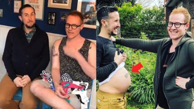 Loh Kok Bisa ? Pasangan Gay Ini Akan Punya Anak, Bikin Kaget Ternyata Seperti Proses Yg Harus Dijalani