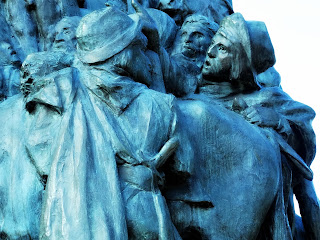 Homem Indica a Partida para o Chile - Monumento La Patria al Ejército de los Andes, Parque General San Martín, Mendoza