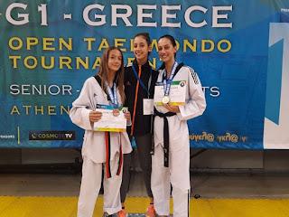 Σάρωσαν τα μετάλλια οι Έλληνες στην 2η ημέρα του Greece Open G1 | 3ος στην κατηγορία του ο Μυτιληνιός Μιχαήλ Γιαννάκης