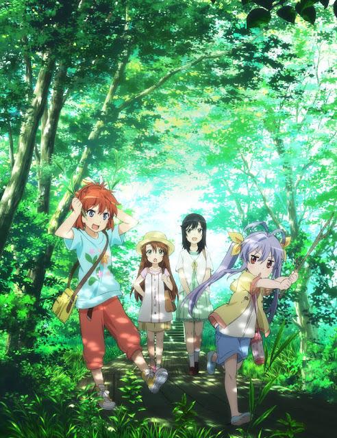 Plakat promujący anime Non Non Biyori Repeat