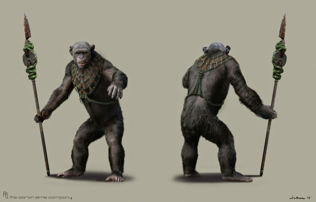 exclusive interview dawn of the planet of the apes concept artist