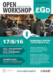 17/6: OpenWorkshop.EGD Vaderdag Editie