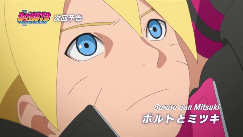 Spoiler boruto episode 12 boruto dan mitsuki