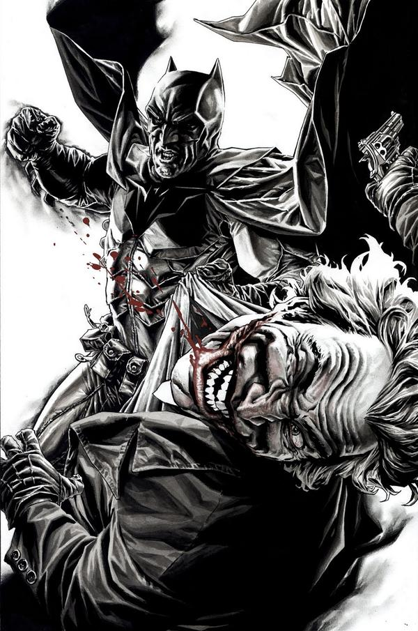 Comically Graphic: Graphic Novel Review: Joker