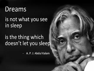 Best quotes of Dr APJ Abdul Kalam