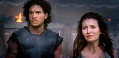 Pompeii - Movie 2014 - Kit Harington si Emily Browning
