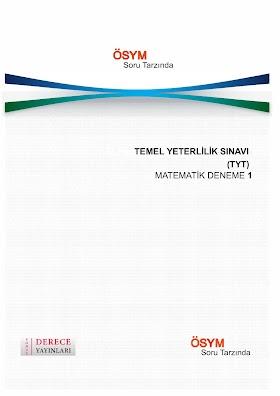 Sonuç Derece Yayınları TYT Matematik 15li Bölüm Denemesi PDF