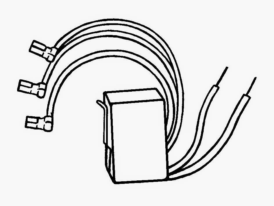Ice Maker Wiring Harness Adapter: Ice maker wiring harness