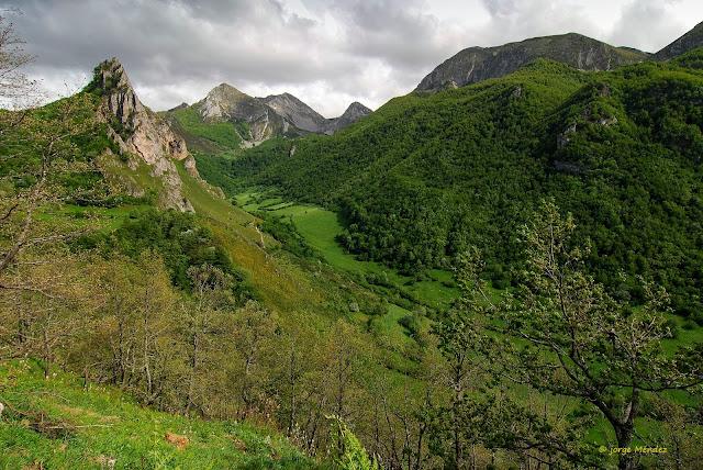 Valle de Sousas Parque Natural Somiedo Asturias