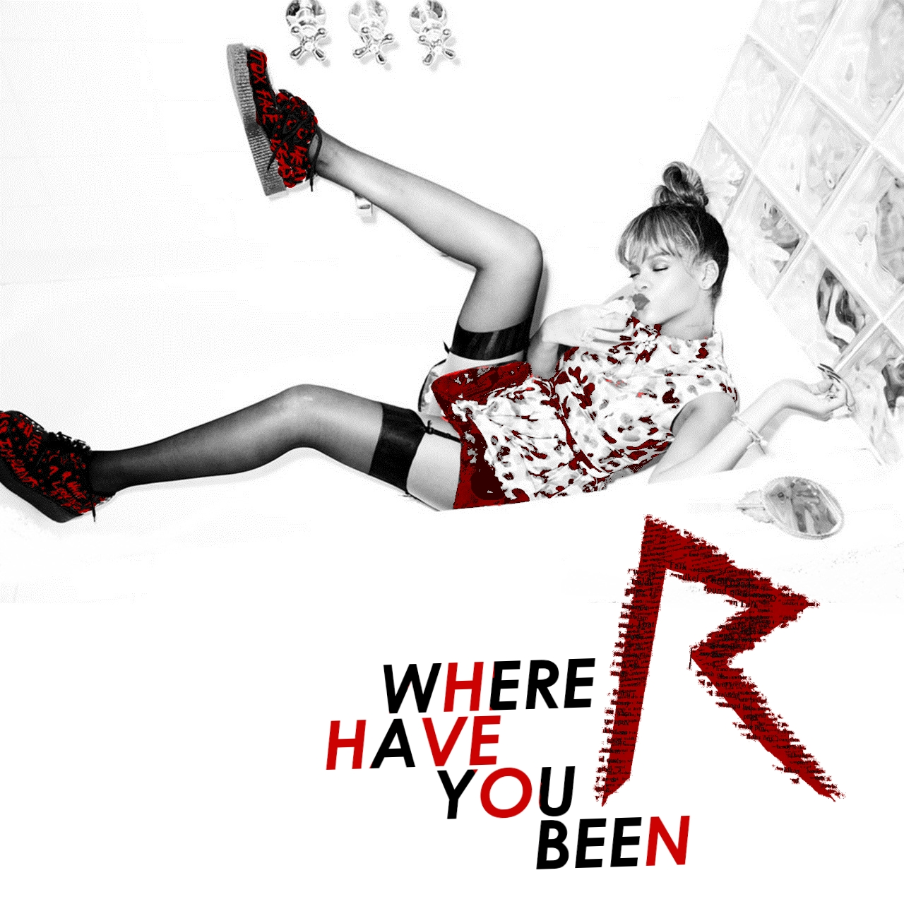 Just Cd Cover: Rihanna : Where Have You Been (MBM single ...