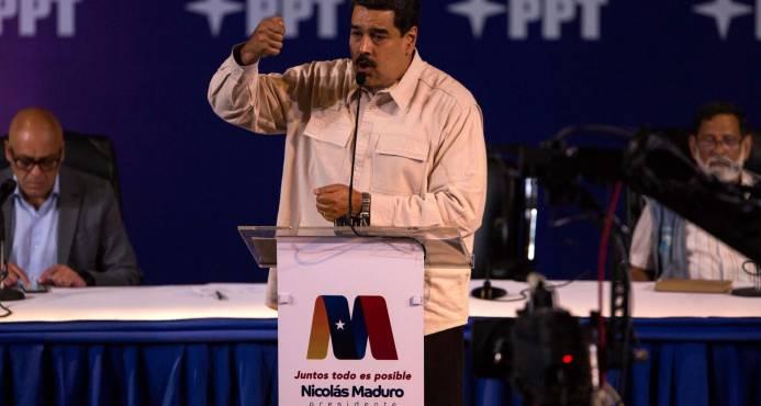 Maduro pide ampliar elecciones de abril en las que no competirá la oposición