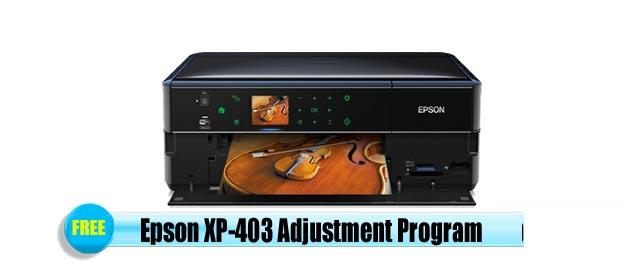 Epson  XP-403 Adjustment Program