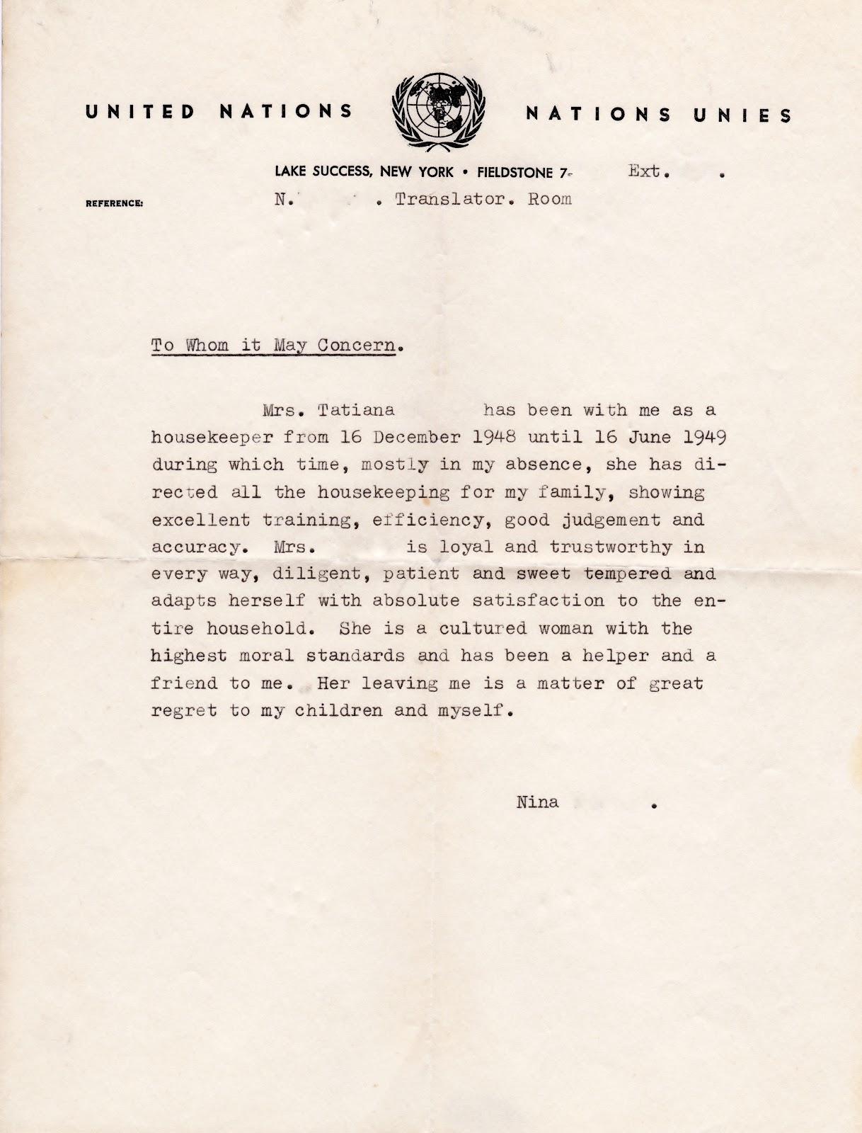Job Description Letter For Canada Immigration