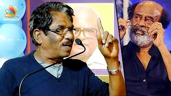 Bharathiraja Speech against Rajinikanth's Political Entry into Tamil Nadu