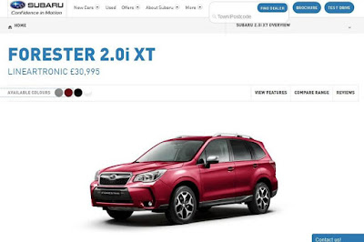 Subaru Forester 2.0i XT Lineartronic (2016) Configurator