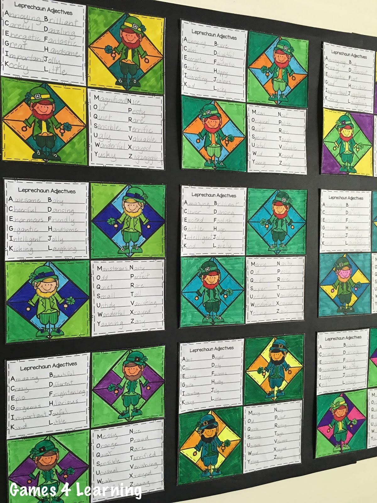 Fun Games 4 Learning St Patrick S Day Writing Prompts