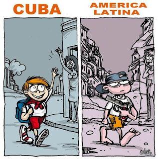 Resultado de imagen para educación cuba y latinoamerica