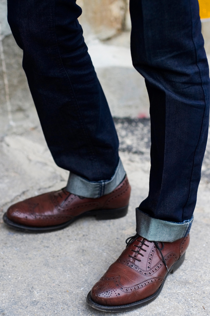 Elegant Brown Brogues Ideal Classics For The Older Man