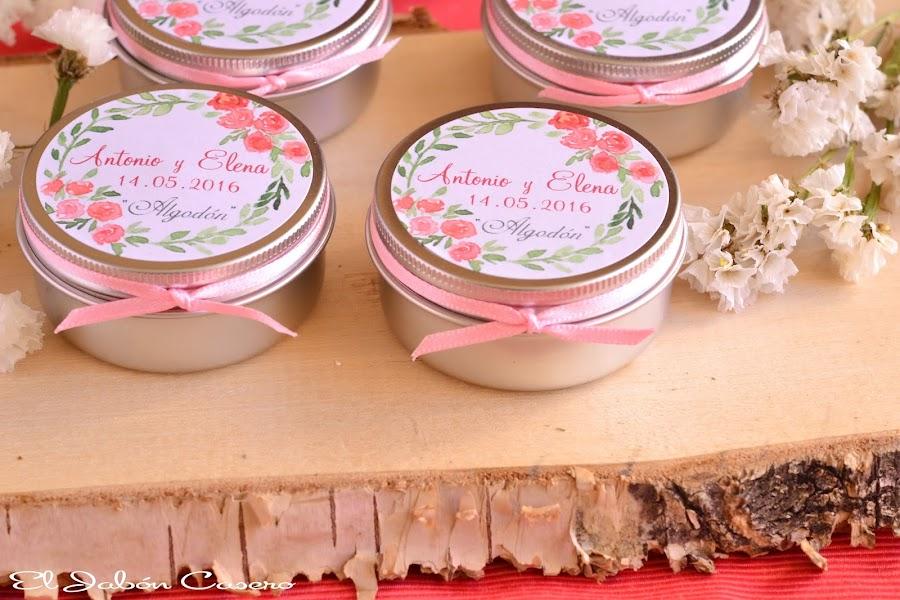 detalles para bodas velas naturales vegetales