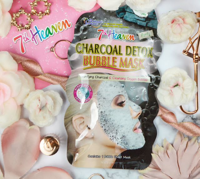 7th Heaven Charcoal Detox Bubble Masks Review, Lovelaughslipstick Blog